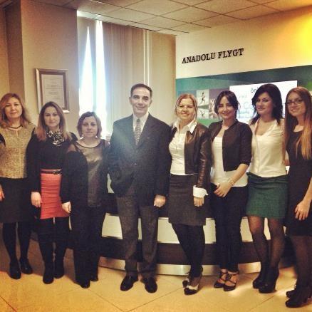 Anadolu Flygt firma ziyareti