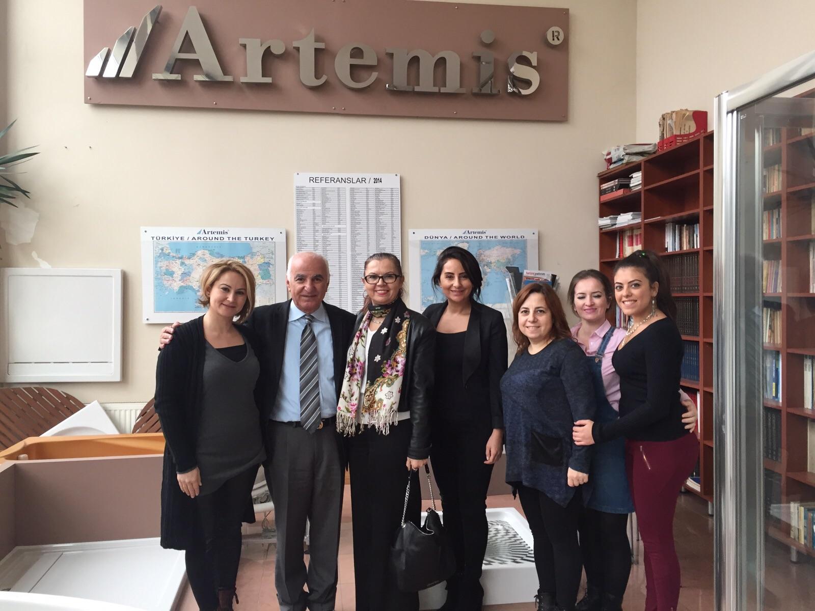 Artemis firma ziyaretimiz