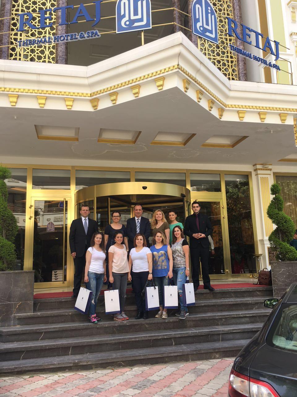 Yönetim Kurulu Üyelerimiz Yalova Retaj Otel'in konuğu oldu.